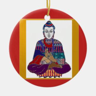 Adorno De Cerámica LUZ buena del AMOR de la paz del Buddhism de BUDA
