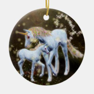 Adorno De Cerámica Magia del unicornio