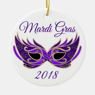 Adorno De Cerámica Máscara del carnaval 2018