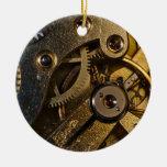 Adorno De Cerámica Mecanismo de vigilancia Steampunk