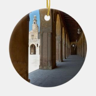 Adorno De Cerámica Mezquita El Cairo de Ibn Tulun