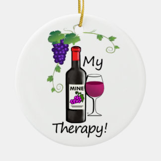 Adorno De Cerámica Mi terapia