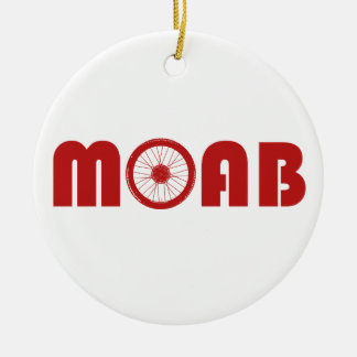 Adorno De Cerámica Moab (rueda de la bici)