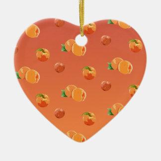 Adorno De Cerámica Modelo de la fruta del melocotón
