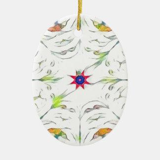Adorno De Cerámica modelo del pañuelo de la primavera del vintage