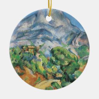 Adorno De Cerámica Mont Sainte Victoire sobre Tholonet, Paul Cezanne