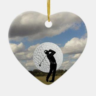 Adorno De Cerámica Mundo del golf