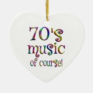 Adorno De Cerámica música 70s por supuesto