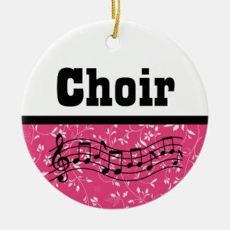 Adorno De Cerámica Música del coro