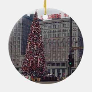 Adorno De Cerámica Navidad de Chicago en el hotel 1963 del congreso