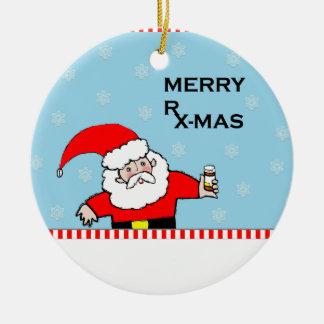 Adorno De Cerámica Navidad del farmacéutico