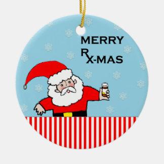 Adorno De Cerámica Navidad del farmacéutico cobrable