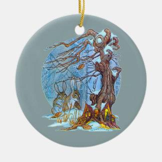 Adorno De Cerámica Navidad en el duende Pasillo