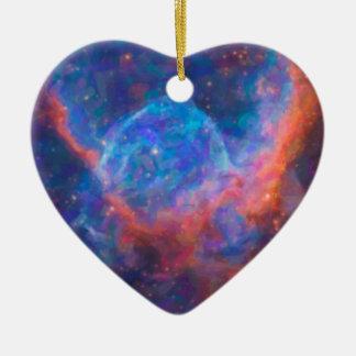 Adorno De Cerámica Nebulla abstracto con la nube cósmica galáctica 29
