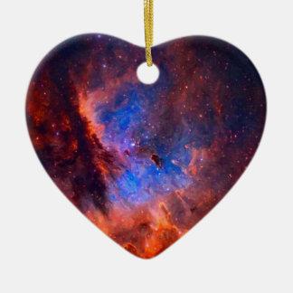 Adorno De Cerámica Nebulosa galáctica abstracta con la nube cósmica -