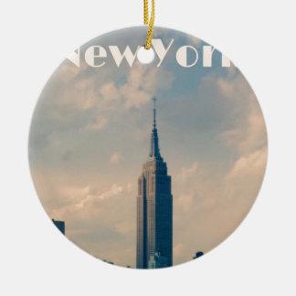 Adorno De Cerámica New York City