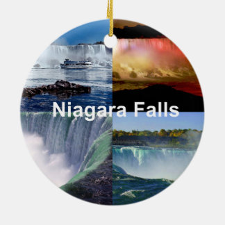 Adorno De Cerámica Niagara Falls Nueva York