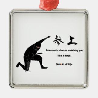 Adorno De Cerámica Ninja