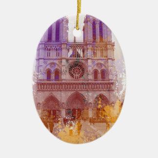 Adorno De Cerámica Notre Dame de Paris
