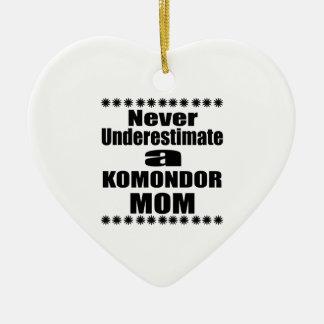 Adorno De Cerámica Nunca subestime a la mamá de KOMONDOR