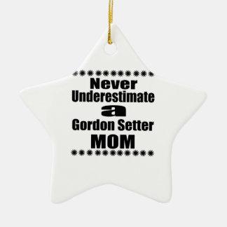 Adorno De Cerámica Nunca subestime a la mamá del organismo de Gordon