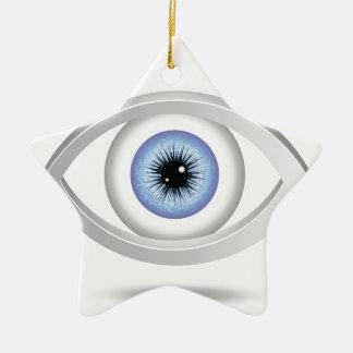 Adorno De Cerámica ojo azul