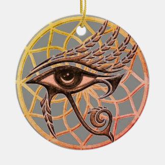 Adorno De Cerámica Ojo ideal del colector de Horus
