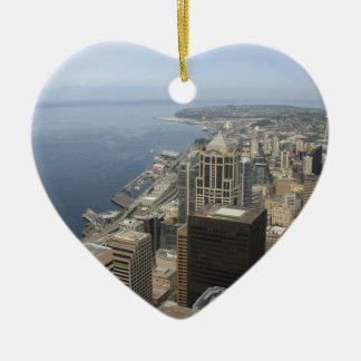 Adorno De Cerámica Opinión de Arial de Seattle