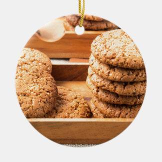 Adorno De Cerámica Opinión del primer sobre las galletas de la avena