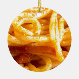 Adorno De Cerámica Opinión macra detallada sobre los espaguetis