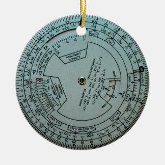 Adorno De Cerámica Ordenador de navegación de la aviación