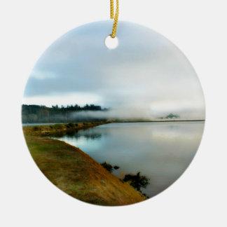 Adorno De Cerámica Oregon muestra apagado su belleza