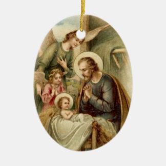 Adorno De Cerámica Ornamento: Natividad de San José