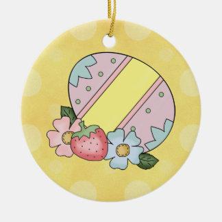 Adorno De Cerámica Ornamentr del huevo de Pascua