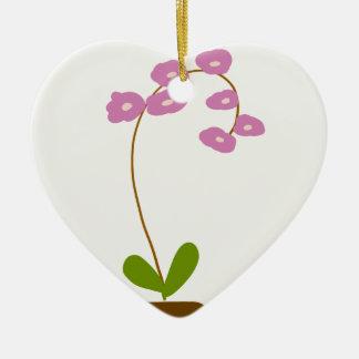 Adorno De Cerámica orquídeas