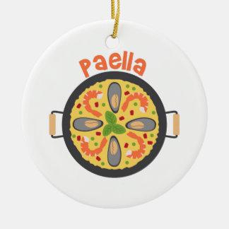 Adorno De Cerámica Paella