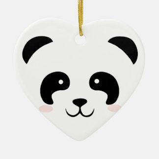Adorno De Cerámica Panda