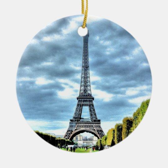 Adorno De Cerámica Paris