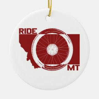 Adorno De Cerámica Paseo Montana