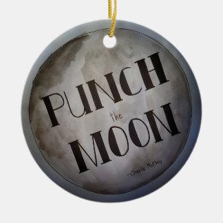 Adorno De Cerámica Perfore los productos de la luna