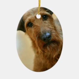 Adorno De Cerámica perro