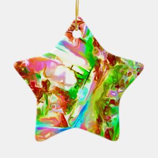 Adorno De Cerámica Piedras preciosas en colores pastel