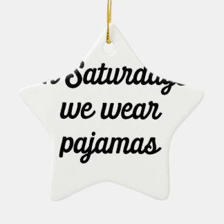 Adorno De Cerámica Pijamas de sábado