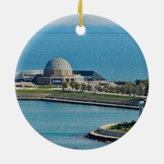 Adorno De Cerámica Planetario de Chicago Adler