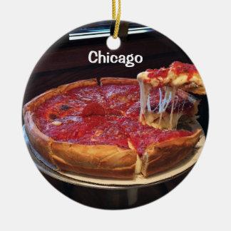 Adorno De Cerámica Plato profundo del estilo de Chicago