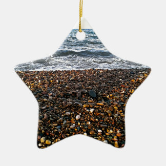 Adorno De Cerámica Playa de piedra