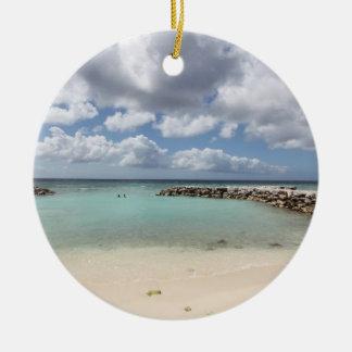 Adorno De Cerámica Playa en la isla de palma del De - Aruba