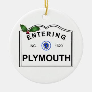 Adorno De Cerámica Plymouth mA