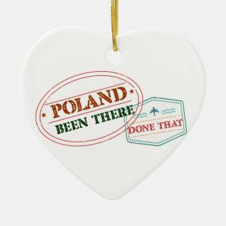 Adorno De Cerámica Polonia allí hecho eso