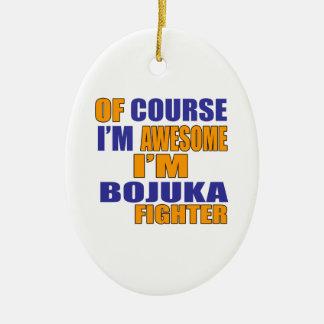 Adorno De Cerámica Por supuesto soy combatiente de Bojuka
